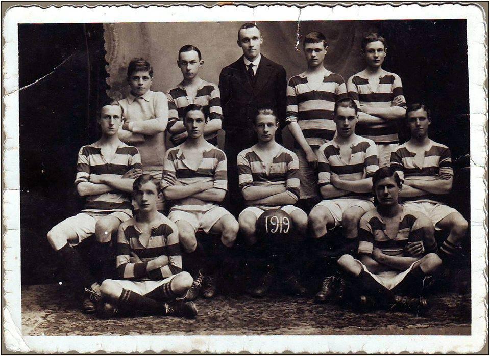 prva fudbalska lopta u loznici